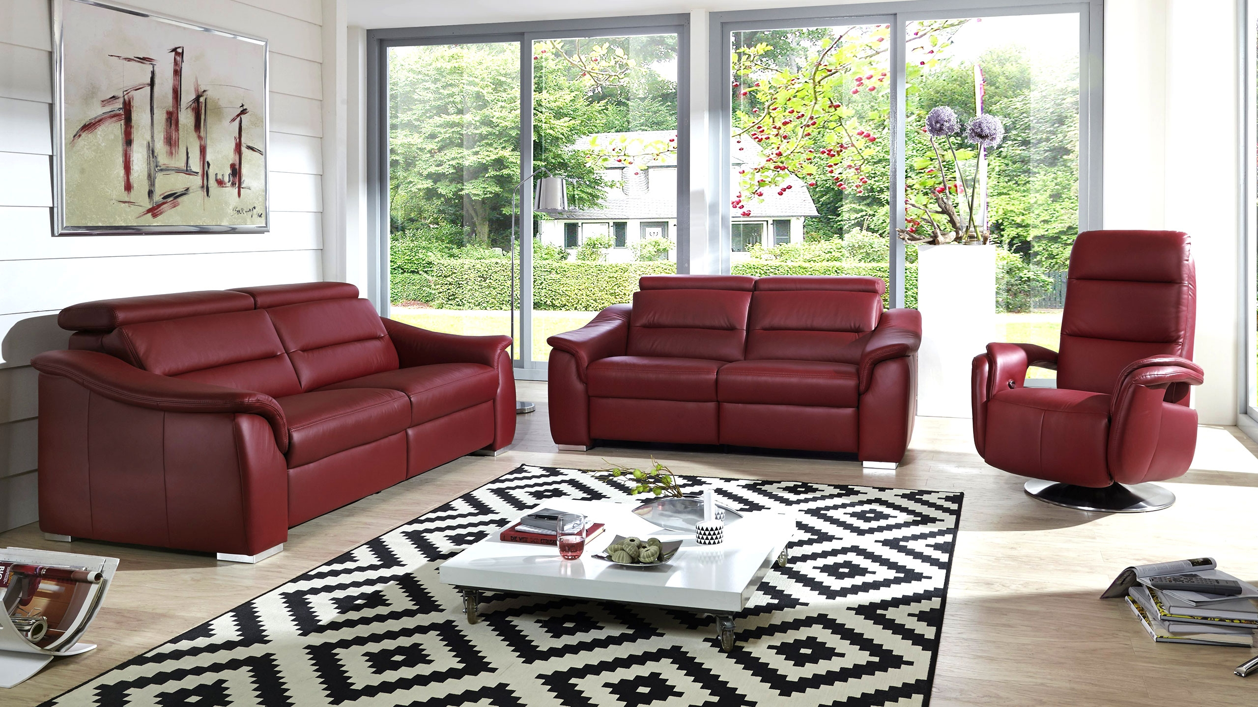 SC select 1008 Sofa Rot