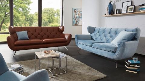 Seca Sofa 200 cm Blau