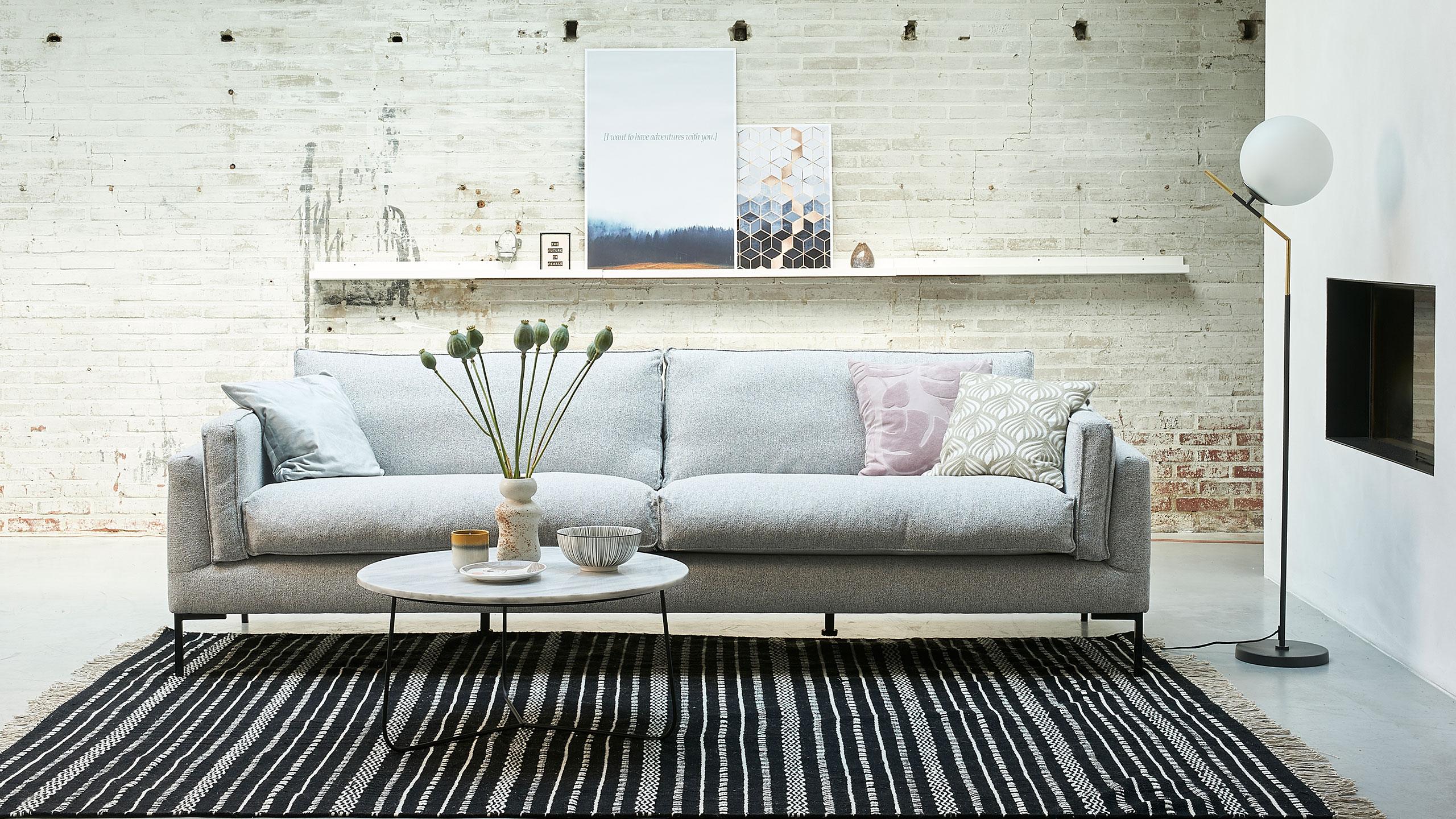 Opsund Sofa Grau