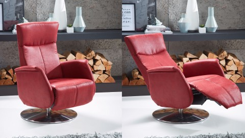 Unostyle Sessel Stoff Rot