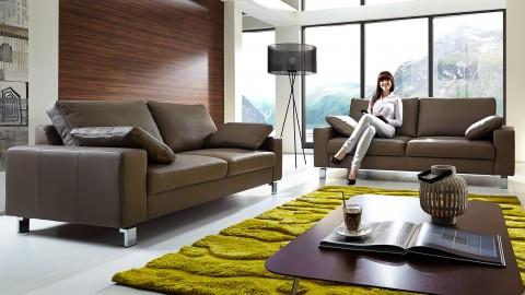 Indiana Sofa Garnitur Braun