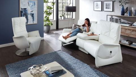 Pinto Sofa Weiss