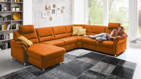 SC family/ select 1010 Wohnlandschaft Orange