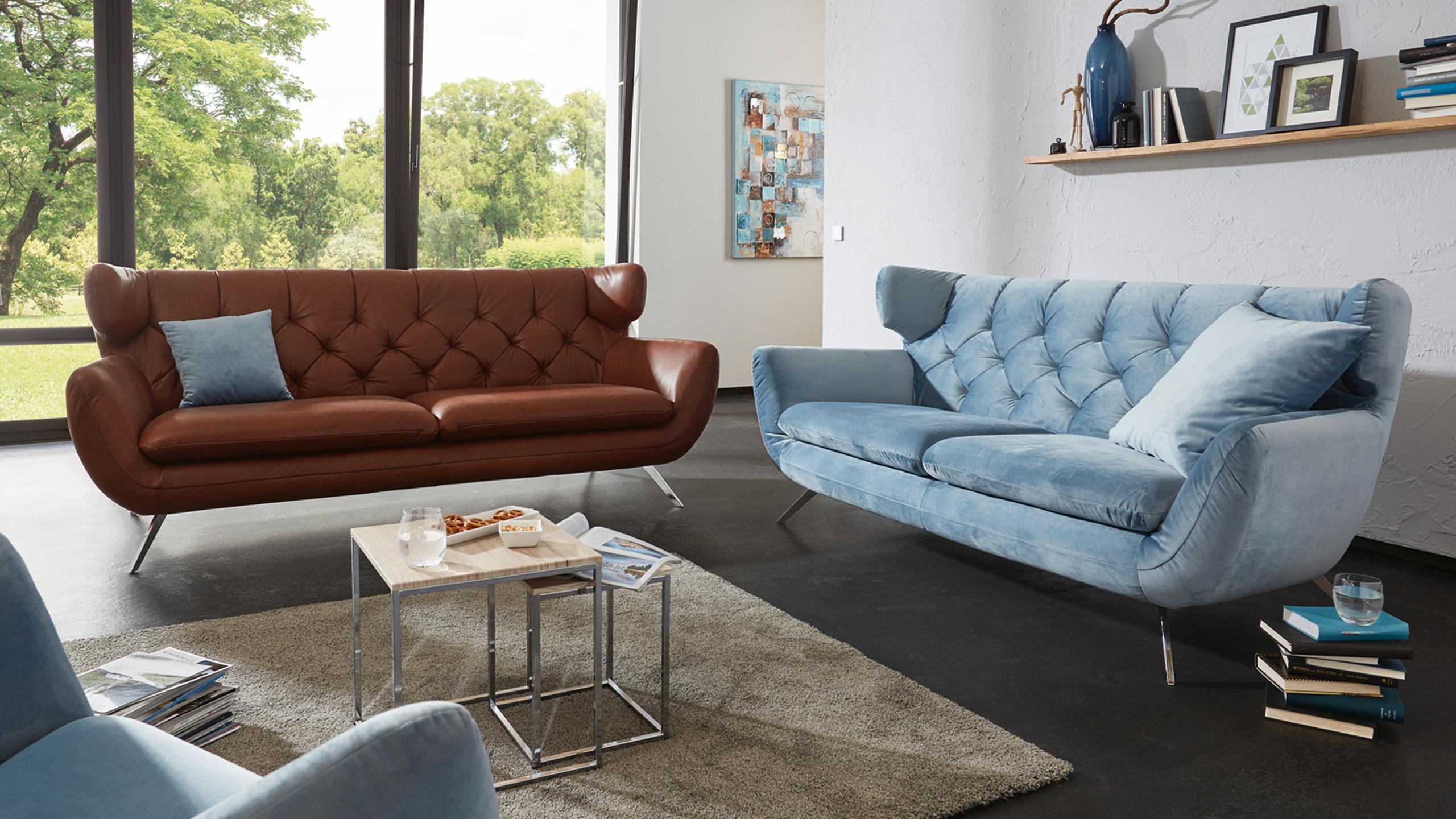 Seca Sofa Blau