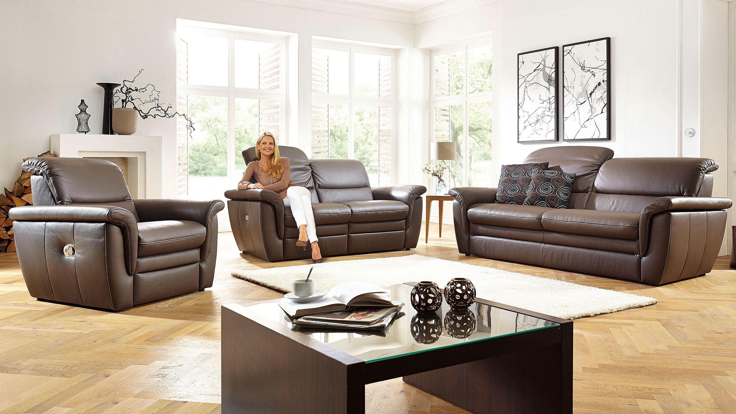 Cava Sofa Leder Braun