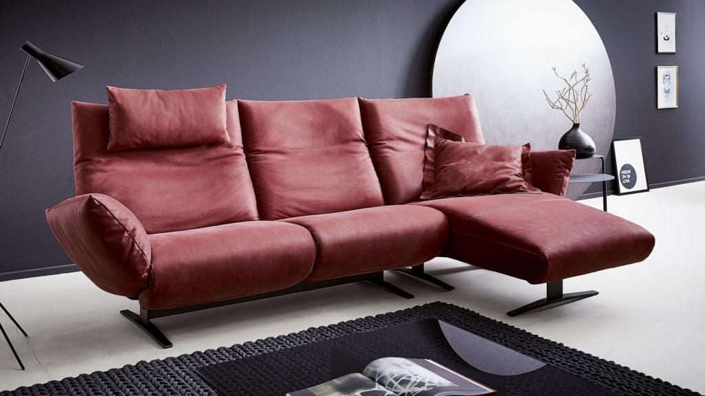 Koinor Sofa Exo Rot