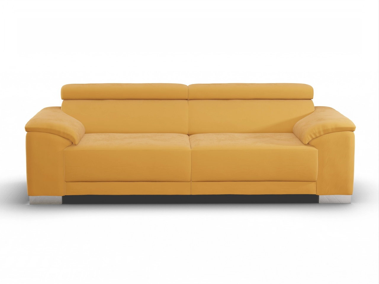 Antonio 3-Sitzer Sofa 3-Sitzer Sofa Stoff Velvet gold ...
